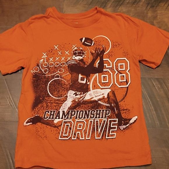 Burnt Orange Football Shirt
